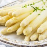 White Asparagus is on the menu